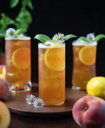 Transparent Juice Glass