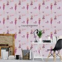 pink barbie kids wallpaper