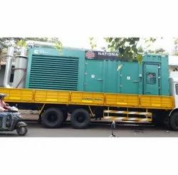 Diesel Trolley Mounted Generator Rental Service, in Maharashtra, For Manufacturing Industries