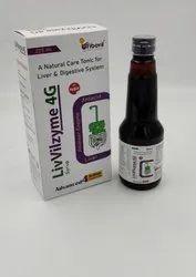 Liver + Alkalizer + Enzyme + Antacid Tonic Sugar Free