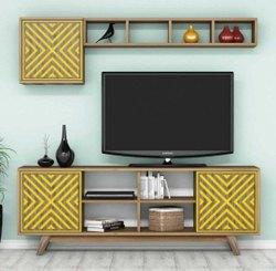 Living Room Decorative TV Wall  Unit