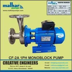 Centrifugal Monoblock Pump With Back Side Suction