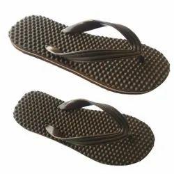 Black Casual Wear Auraton hawai slipper