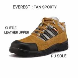 Everest Tan Sporty Safety / Industrial Shoes