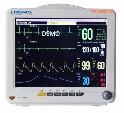 Monarch Meditech Multipara Patient Monitor MM - 5012
