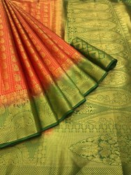 Present New Designing  Banarasi Silk Saree