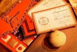 Paper Wedding Cards Printing Service, Location: Pan India