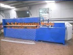 Semi Chain Link Fence Machine