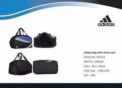 Polyester Adidas Duffle Bag, For Gym