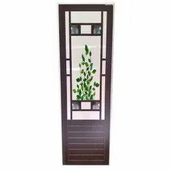 Brown Designer PVC Plastic Door