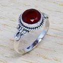 925 Sterling Silver Green Onyx Gemstone Handmade Ring Jewelry Sjwr-442