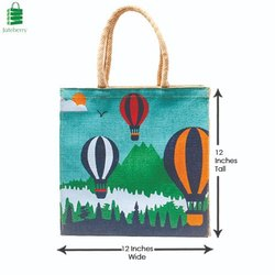 Juteberry Jute Printed Beach Bags