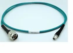Rfconnectorhouse Blue Ultra Flexible Test Cable Assembly For Testing And Measurement