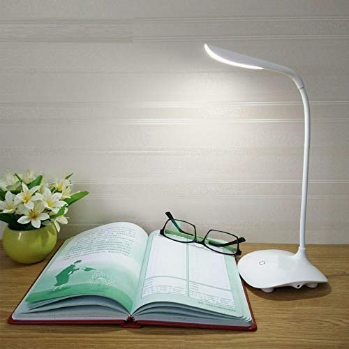 Led Desk Lamp Ausaco Eye Care Stepless, Touch Control Lamp Dimmer