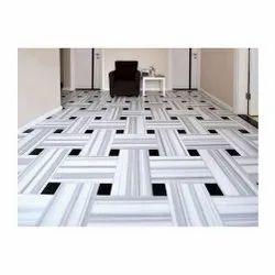 Matt White Marble Flooring Fitting, Size: 60 * 60 (cm)