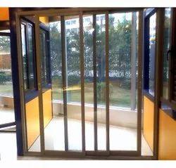 Brown UPVC Sliding Door, Exterior