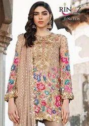 Rinaz Fashion Blockbuster Hits Vol 6 Fox Georgette Pakistani Suit Catalog