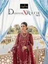 Rawayat Damask X Rouche Vol 2 Georgette With Embroidery Work Pakistani Suit Catalog