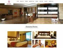 Cloud Responsive Hotel Resort Website Design Development Service, With Online Support