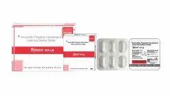 Amoxycillin 500 mg & Potassium Clavulanate 125 mg with Lactic Acid 60 Million Spores