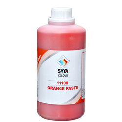 Orange 13 Pigment Paste For Water Based Paste
