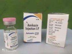 Amikacin 250 Mg Injection(ASTAMIC-250)