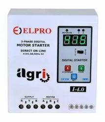 ELPRO CONTROLS 25 Amp 3 PHASE DIGITAL STARTER, Model Name/Number: Agri, Voltage: 415v Ac