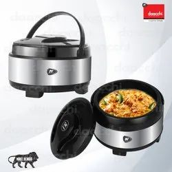 Round Stainless Steel Insulated Casserole