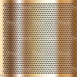 Copper Perforated Sheet