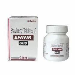 Efavirezn Tablets IP 600mg