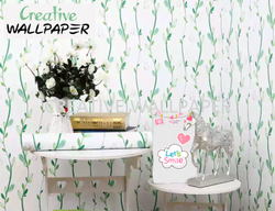 white colour waterproof wallpaper