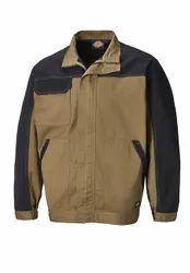Polyester Collar Neck Mens Winter Jacket, Size: XL