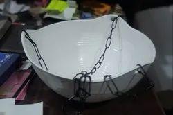 Plastic Hanging bowl Pot