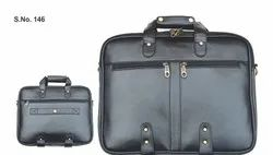 Design Black Promotional Corporate Leather Executive Office Bag In Banglore, Size/Dimension: 39.6 X 15.9 X 27.9 Centimeters