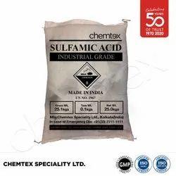 Generic Powder Sulfamic Acid GP Grade, Chemical Formula: H3NSO3, Packaging Type: Bag