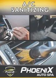 Car Ac Duct Sanitizing Car Washing Services, in trivandrum