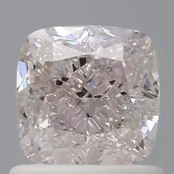 Cushion 1.01 CT I1 Very Light Pink GIA Certified Natural Diamond