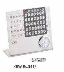 Steel Table Calendar