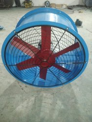 VAYUVENTS Industrial Fume Axial Fan, 415V, Capacity: 28000 Cmh