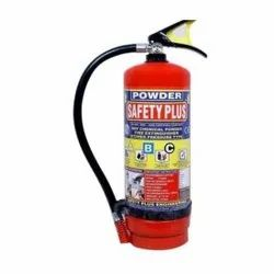 Safety Plus Carbon Steel Dry Chemical Fire Extinguisher, Capacity: 4Kg