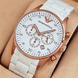 Round Casual Watches AR5919 Men's Watch, For Daily