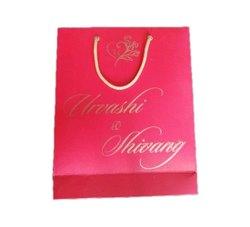 Kraft Paper Hot Pink Wedding Paper Gift Bags