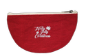 Red Christmas Pouch Bag