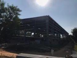 Industrial Building Construction Service, in Vadodara
