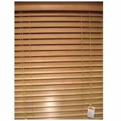 Brown Wooden Venetian Window Blinds, For Home, Office