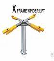 X Frame Spider Lift
