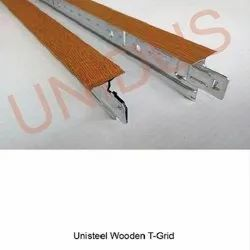 24mm Wide T-Grid Suspension System Wooden