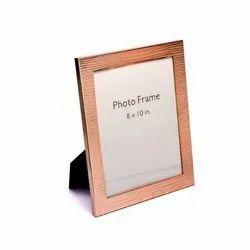 Rose Gold Ridged Finish Photo Frame (8x10)
