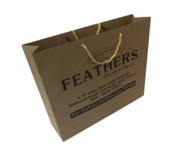 Craft Handled Carry Bag, For Shopping, Bag Size: 16x11x4 Inch