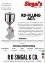 Manual Filling Machine RD-A03